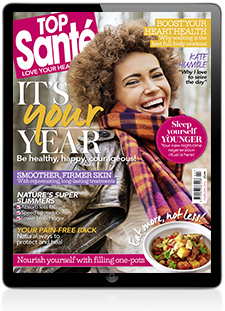 Jo Kane featured in Top Sante Feb edition
